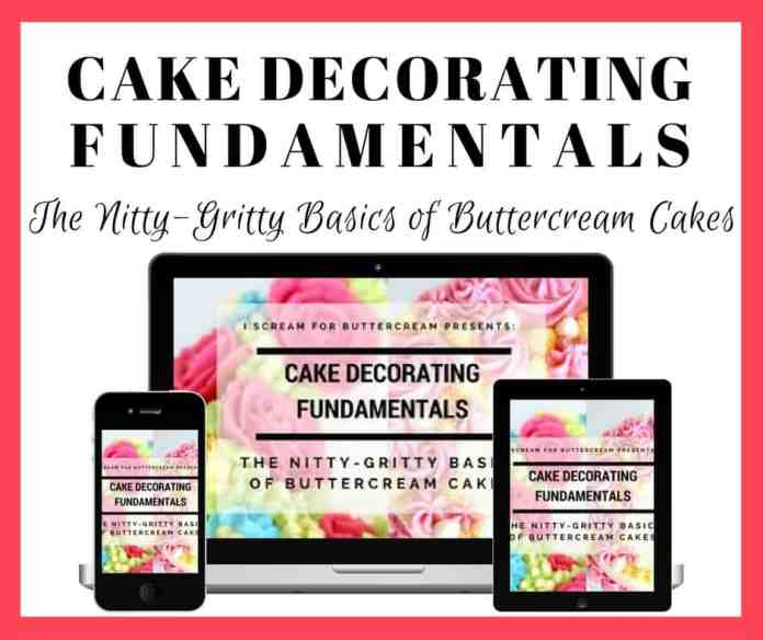 Cake Decorating Fundamentals