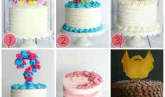 Decorate Cakes Using Dollar Store Items