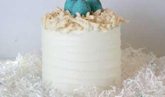Cadbury Egg Easter Cake
