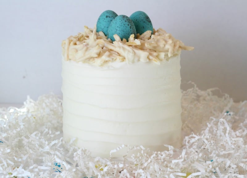 Cadbury Egg Easter Cake