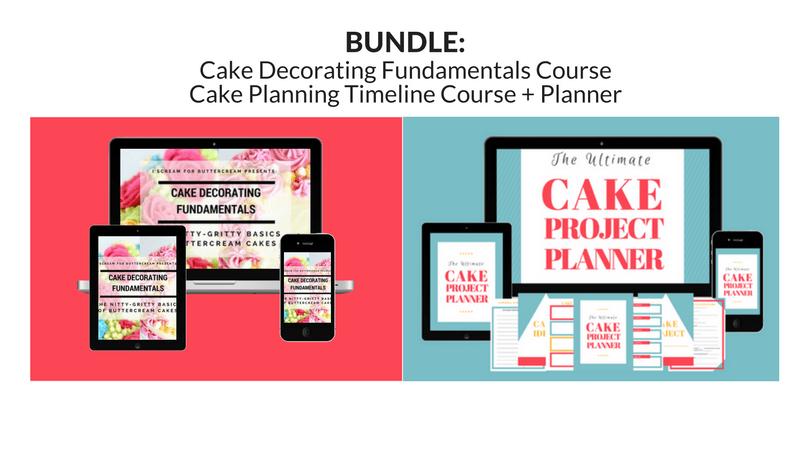 Cake Decorating Timeline Buttercream : How to Make a Fidget Spinner Cake - I Scream for Buttercream