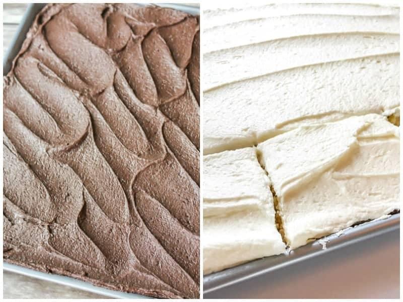 Yellow Buttermilk Sheet Cake 2 Ways