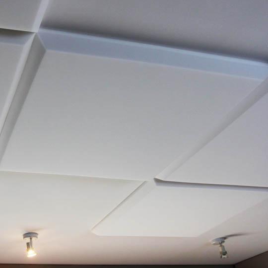 flat foam acoustical ceiling panels