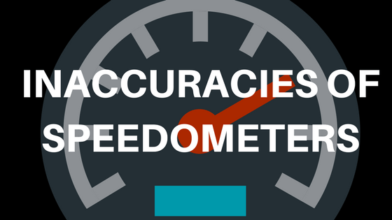 Inaccuracies of Speedometers