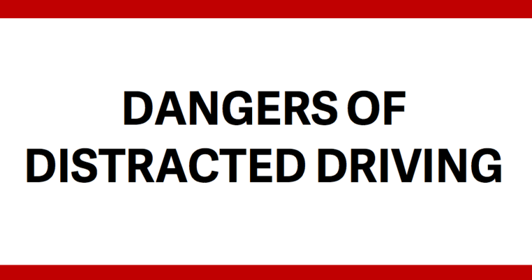 Dangers of Distracted Driving eBook