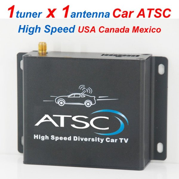 Car ATSC Digital TV receiver for USA Canada Mexico 1 -