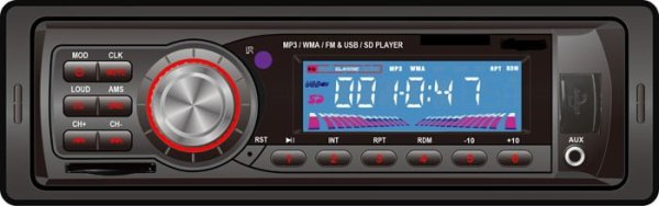 VCAN0714 Car USB SD MP3 player FM radio 2 -