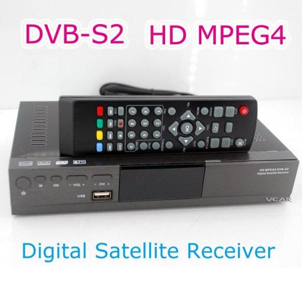 HD MPEG4 DVB-S2 Digital Satellite TV Receiver 1 -