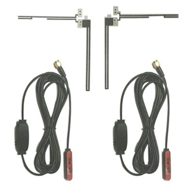 Digital waterproof TV antenna for analog and digital with amplifier 1 -