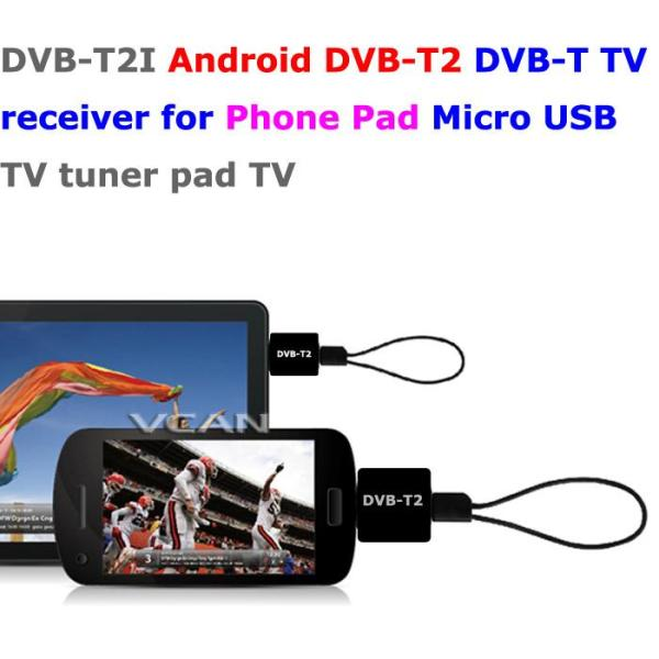 Android DVB-T2 DVB-T TV receiver for Phone Pad Micro USB TV tuner apk 1 -