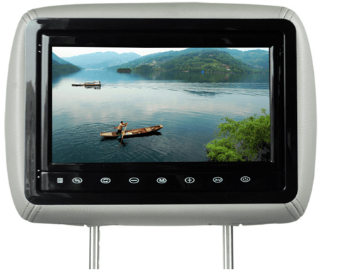 10.1 inch headrest LCD monitor for car USB SD HDMI  player VCAN1385 1 -