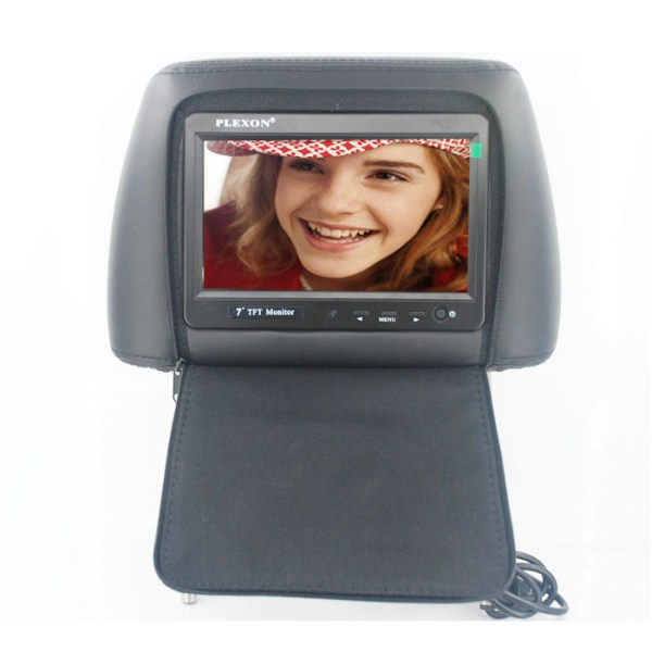 7 inch headrest monitor with pillow bag LED backlight cover zipper 4 -