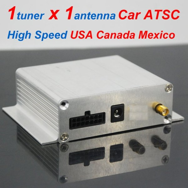 Car ATSC Digital TV receiver for USA Canada Mexico 4 -