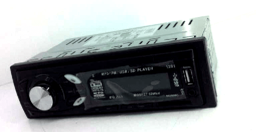 In dash One din Car USB SD MP3 player FM radio 4 -