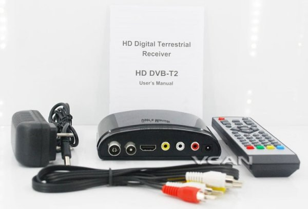 Digital TV receiver Set Top Box Home HDTV HDMI USB 5 -