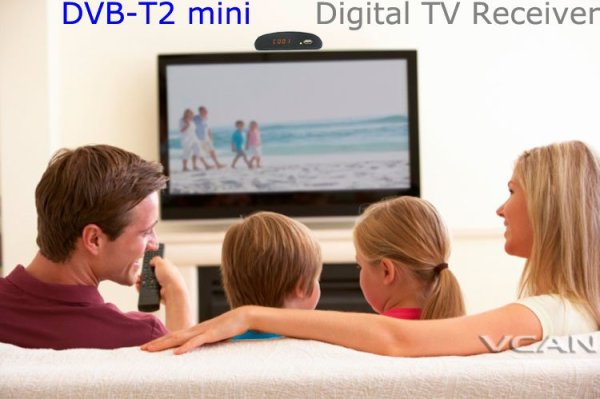DVB-T2 mini Digital TV receiver 5 -