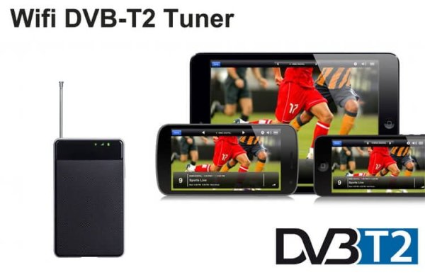 WIFI DVB-T2 Tuner Digital TV DVB-T Receiver for Android phone and pad WIFI-TV300 8 -