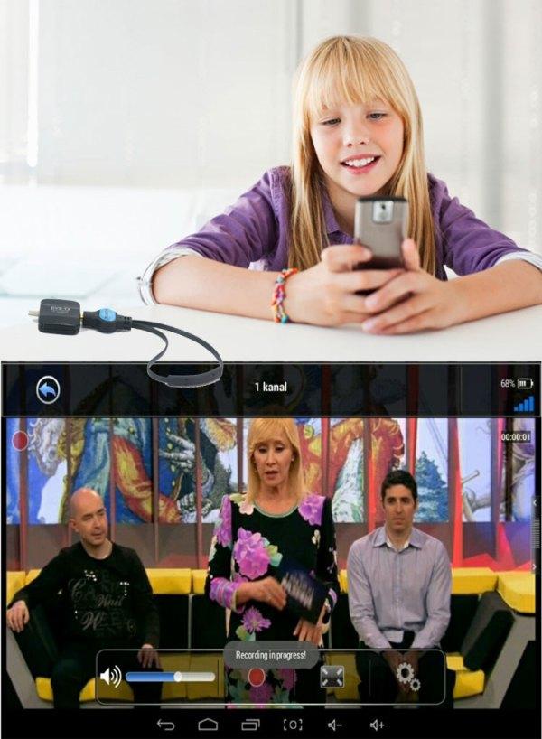 ATSC USB TV stick mobile phone use tuner USA Canada Mexico micro usb android phone pad ATSC-77 7 -