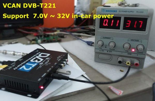 Car DVB-T2 DVB-T High Speed Digital TV Receiver automobile DTV box DVB-T221 7 -