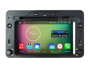 Alfa Romeo android GPS VCAN1443 Quad Core 5.1.1 Car DVD GPS for 159 Sportwagon Spider Brera 4 -