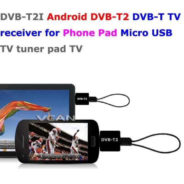 DVB-T2I Android DVB-T2 DVB-T TV receiver for Phone Pad Micro USB TV tuner apk 1 -