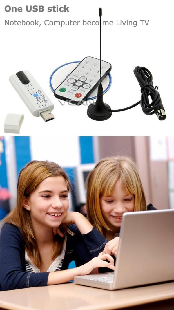 DVB-T2U USB DVB-T2 PC DTV receiver DVB-T2 DVB-T DVB-C SDR FMDAB TV stick 3 -