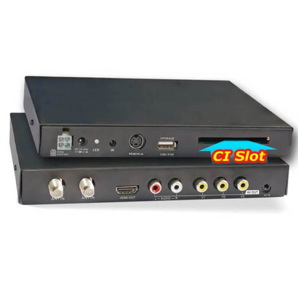 DVB-T3000CI HD DVB-T MPEG4 receiver with CI CAM card reader Slot DTV Europe TNT TDT CA 6 -