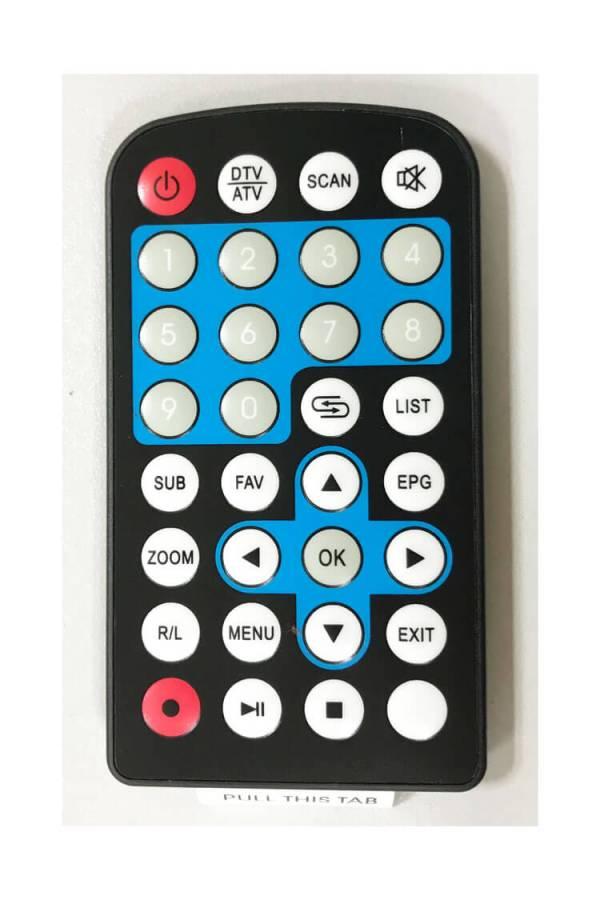 One tuner One antenna car DVB-T tv receiver MPEG4 DVB-T7000 5 -