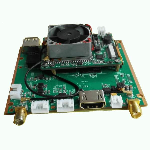 Decode Board H.265 COFDM Wireless Video transmission Receiver 1 -