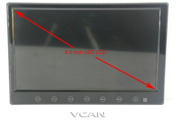 ISDB-T9 9 inch isdb-t full seg digital tv b-cas 2x2 tuner dual antenna with FM transmitter 2 -