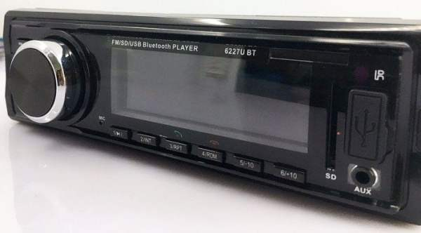 Fixed Panel Car MP3 USB SD FM Bluetooth RDS  MP3-6227 4 -