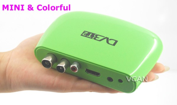 DVB-T2M8 Mini HD DVB-T2 Home H.264 Set Top Box with USB support PVR /Multi-language 2 -