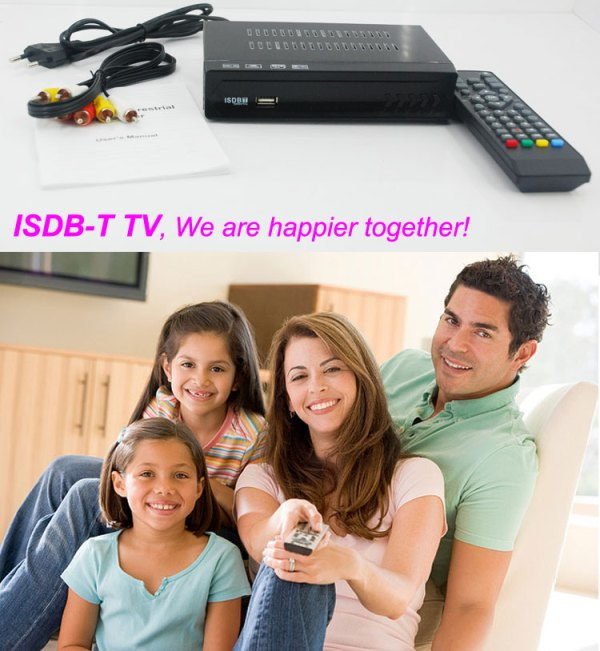 Philippines Home ISDB-T Digital TV Receiver 4 -