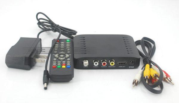 VCAN1092 Car ISDB-T Philippines Digital TV Receiver black box MPEG4 HDMI USB PVR Remote 4 -