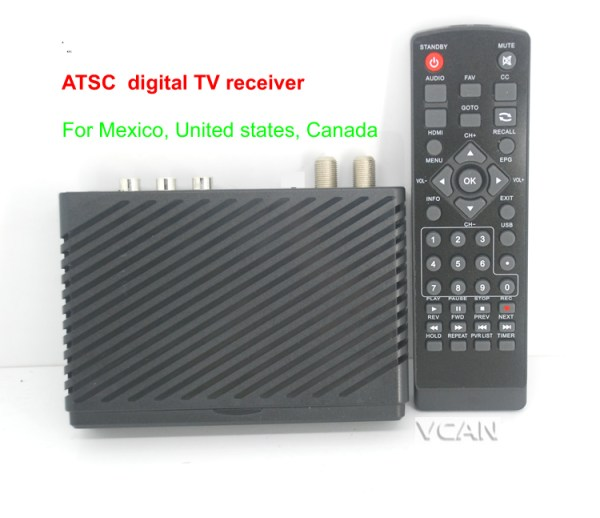 VCAN1098 Mini HD Home ATSC Digital TV Receiver for Mexico 2 -