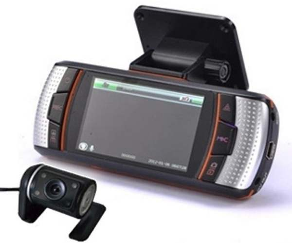 Driving recorder with GPS with External Camera  VCAN1301 1 -