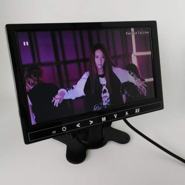 9 inch LCD monitor with USB SD mp5 player bulit in speaker with earphone plug VCAN1327 1 -