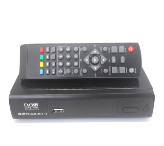 Home DVB-T2 H.265 H.264 DVB-T Receiver VCAN1526 YPbPr HDMI RCA out 1 -