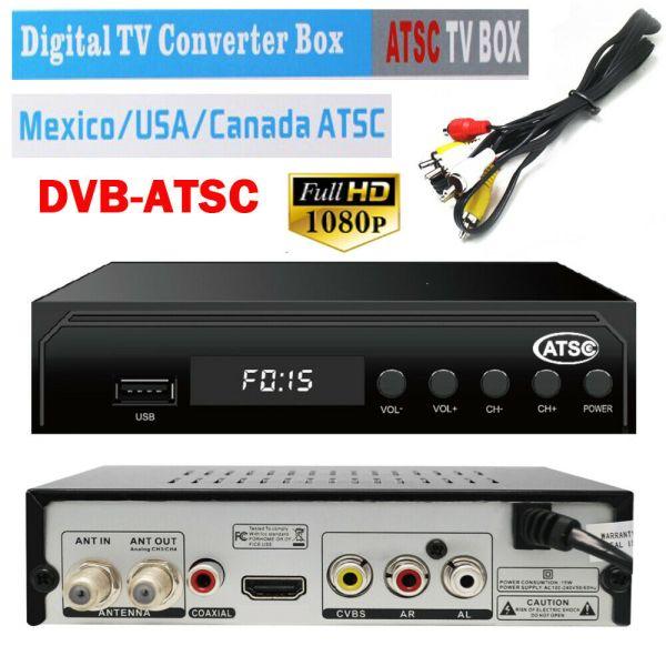 Mexico ATSC TV Receiver Digital TV MPEG4 HDMI USB PVR VCAN1078 for USA Canada 1 -