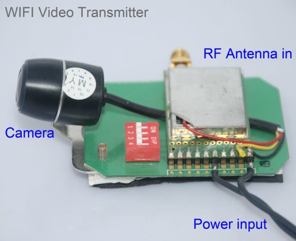 Wifi Video Transmitter for camera wireless transmission to mobile phone 1 -