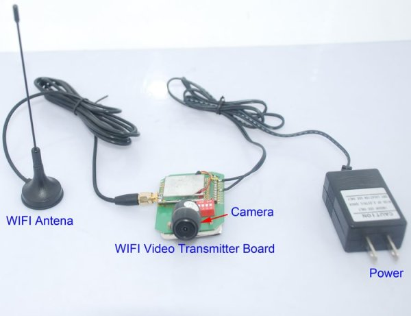 Wifi Video Transmitter for camera wireless transmission to mobile phone 2 -