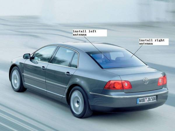 Car DVB-T Receiver MPEG4 H.264 2 tuner 2 diversity antenna Booster Recorder DVBT 12 -