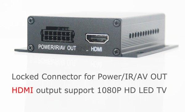 Auto DVB-T TV receiver box diversity 2 antenna MPEG4 H.264 STB dvb-t7200 4 -