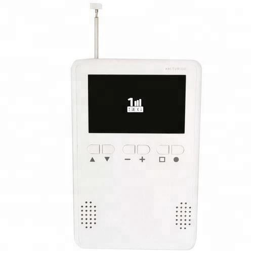 one seg tv am fm radio 3.2 inch monitor Portable digital isdb-t tv Pocket TV with speaker earphone output 3 -
