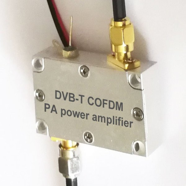 PA Power Amplifier for DVB-T COFDM TX Transmitter transmission 1w 2w 5w 10w 15w 1 -