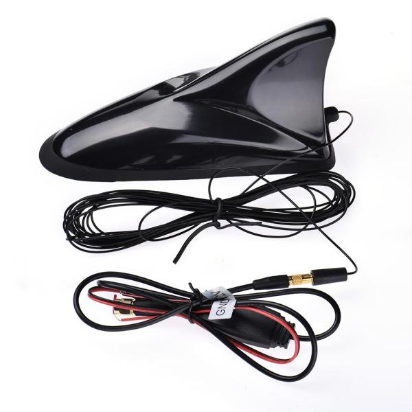 Car Radio Antenna Universal Car Shark TV Antenna DVB-T DVB-T2 ATSC ISDB Digital TV Box SMA Plug Antenna 2 -