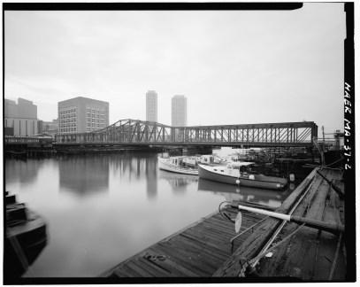 Fort Point Channel Bridge Boston 1