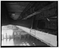 Fort Point Channel Bridge Boston underneath