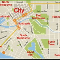 Maps of Melbourne, Australia