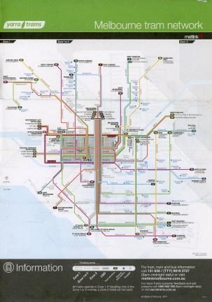 Melbourne Yarra Trams network